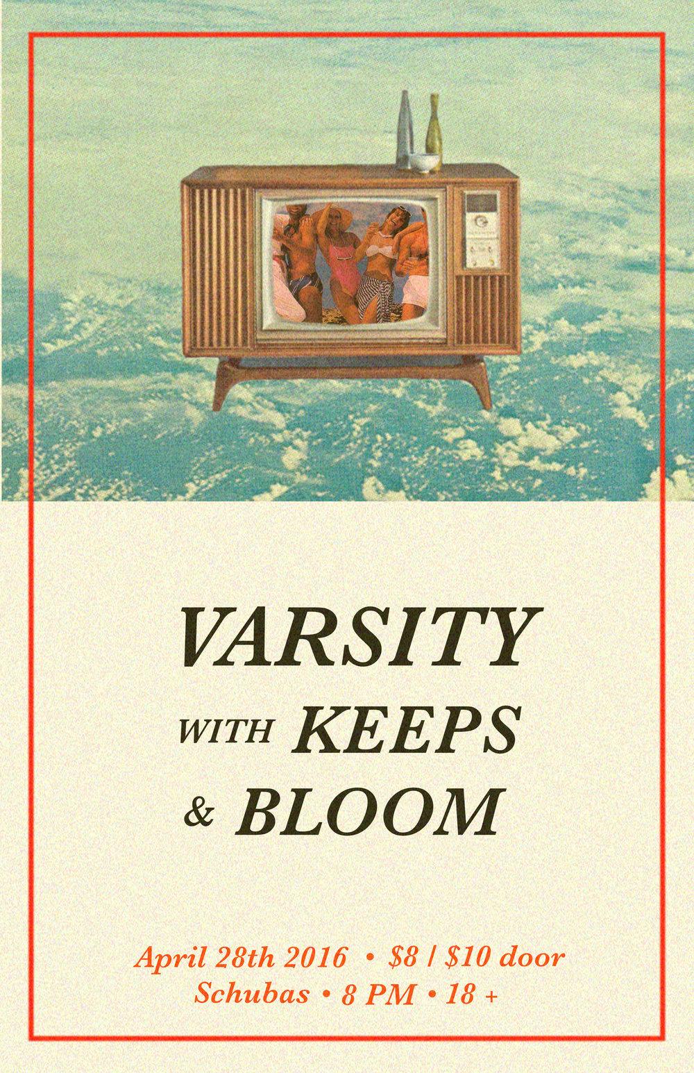 - Varsity show poster