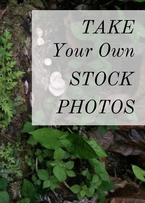 take your own stock photos