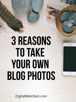 As an entrepreneur and blogger, are you spending too much time looking for the perfect stock photos? Learn how to take your own images. Here are 3 reasons you should.