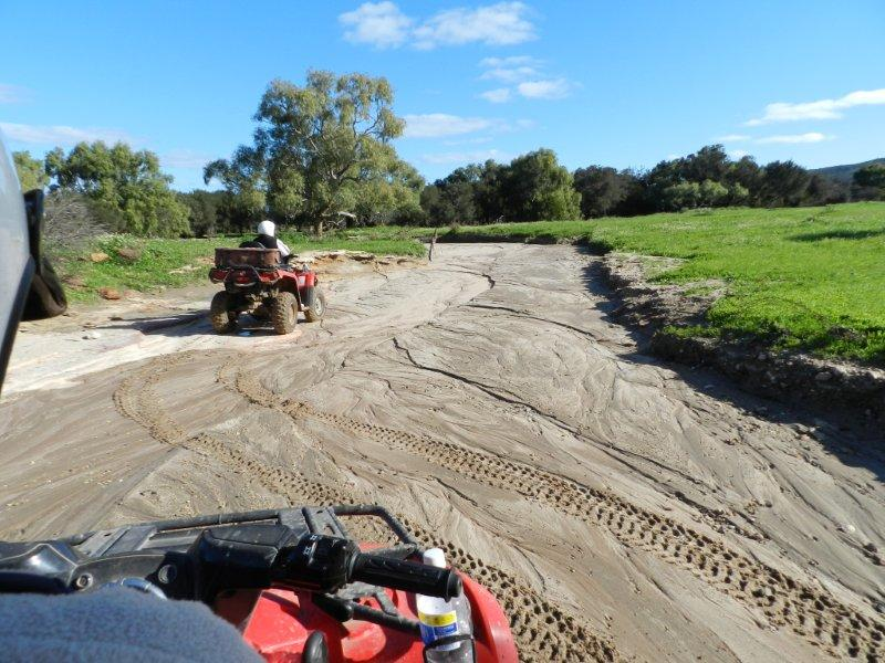 quad bike safaris with Kalbarri Quadbike Safaris