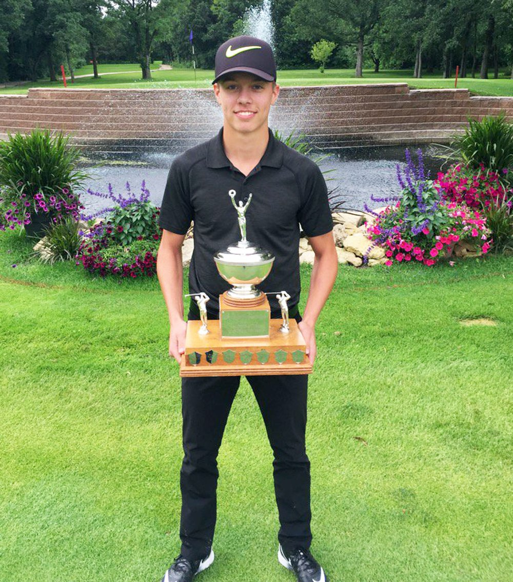 2016 Manitoba Provincial Junior Mens Champion-Zach Wytinck -