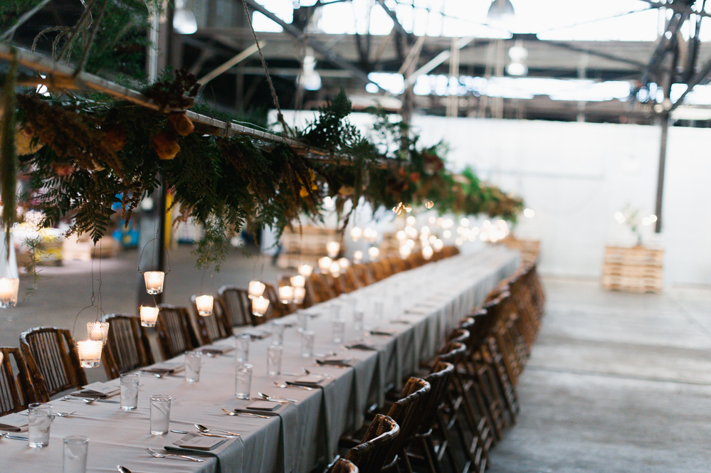 Example of event design by Harvest & Gather. Photo credit:  Rodger Obley .