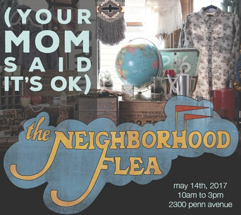 Sign up for Flea updates by texting 'neighborhoodflea' to 24587