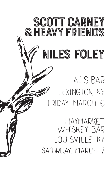 Al's Bar & Haymarket Whiskey Bar handbill