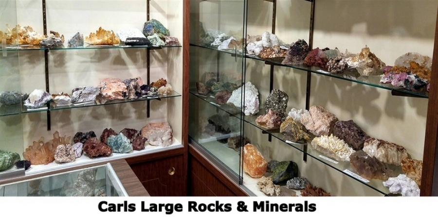 Carls Large Rocks and Minerals