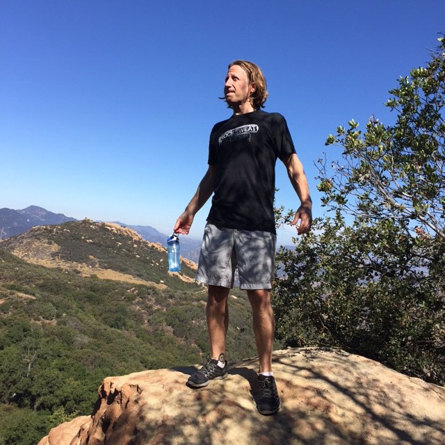 summer #outdoorexercise. #Sweat & #vitaminD. Don't forget #sunscreen & lots of H20. 8 mi #hike #santamonicamountains