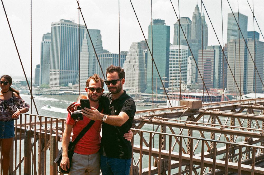 Brooklyn Bridge - Gay Selfie.jpg