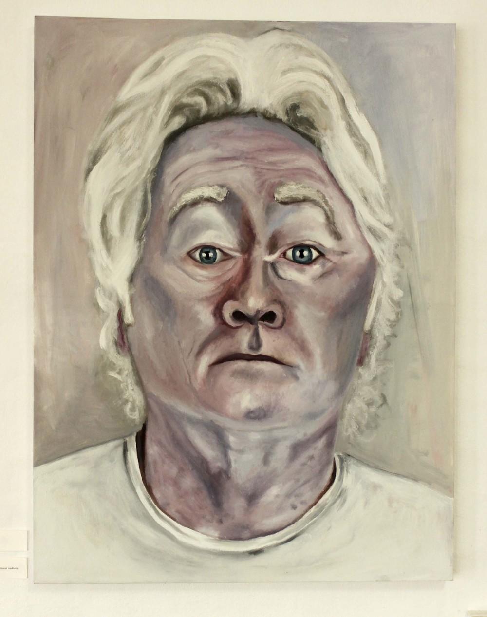 """Liam Fallon """"Dad"""" - oil on canvas"""