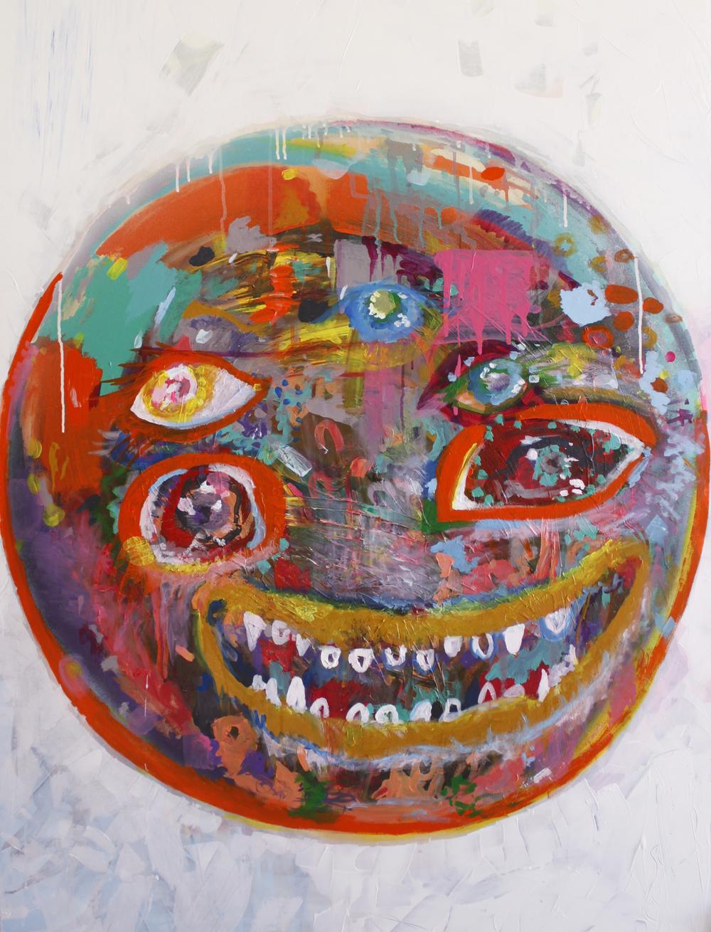 Lily Hahn-Stevens, emoji, The Corner Store Gallery