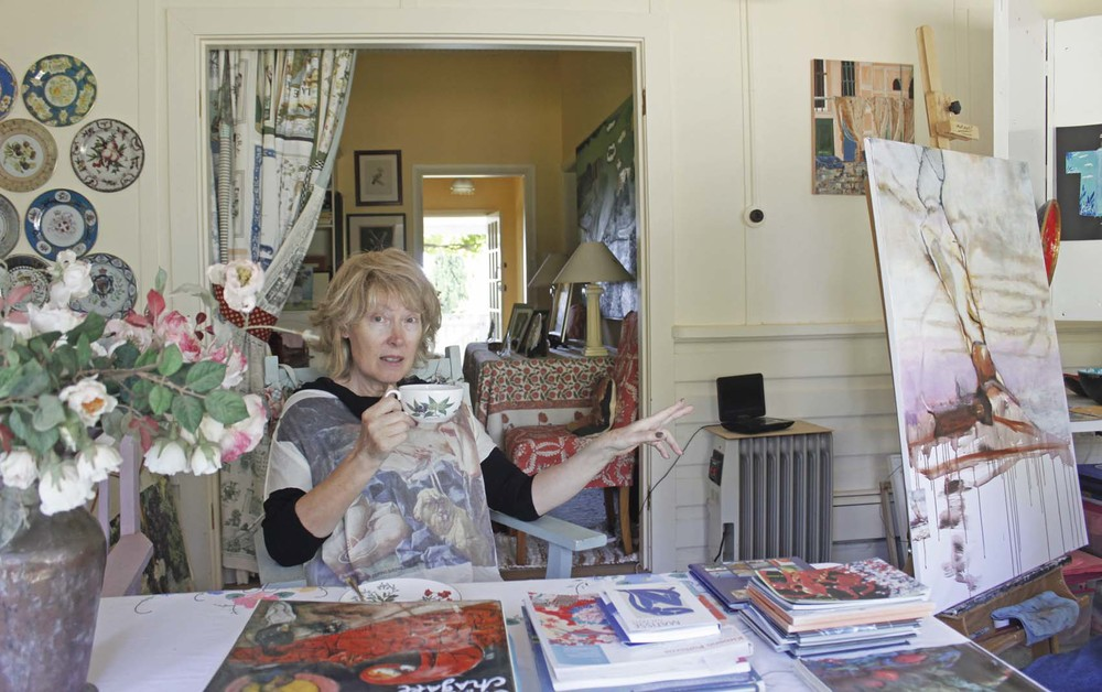Australian Artist Studio Visit - Josephine Jagger-Manners, The Corner Store Gallery, Orange NSW, photograph by Madeline Young