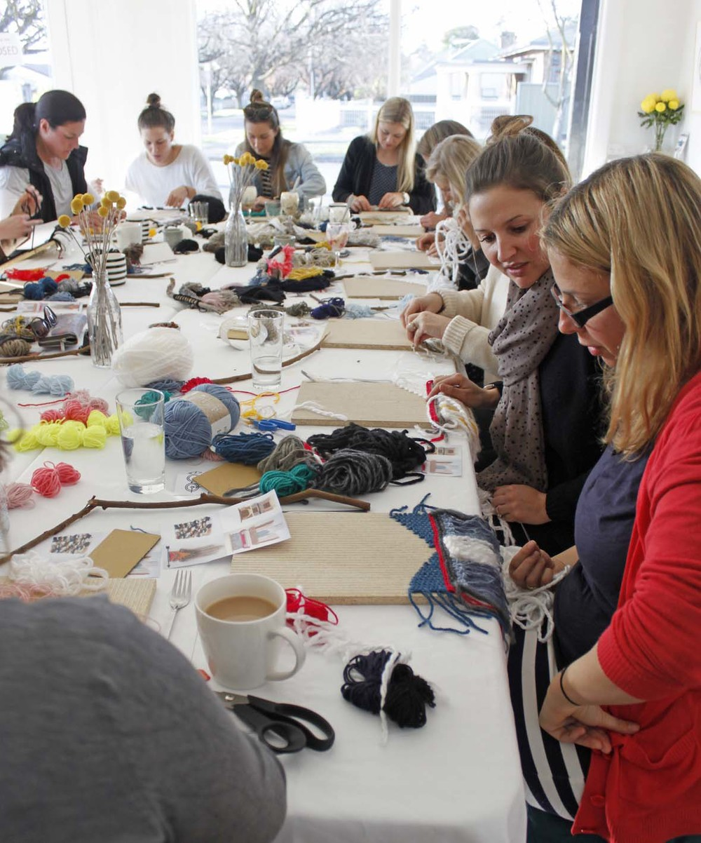 DIY Woven Wall Hanging Workshop, the Corner Store Gallery