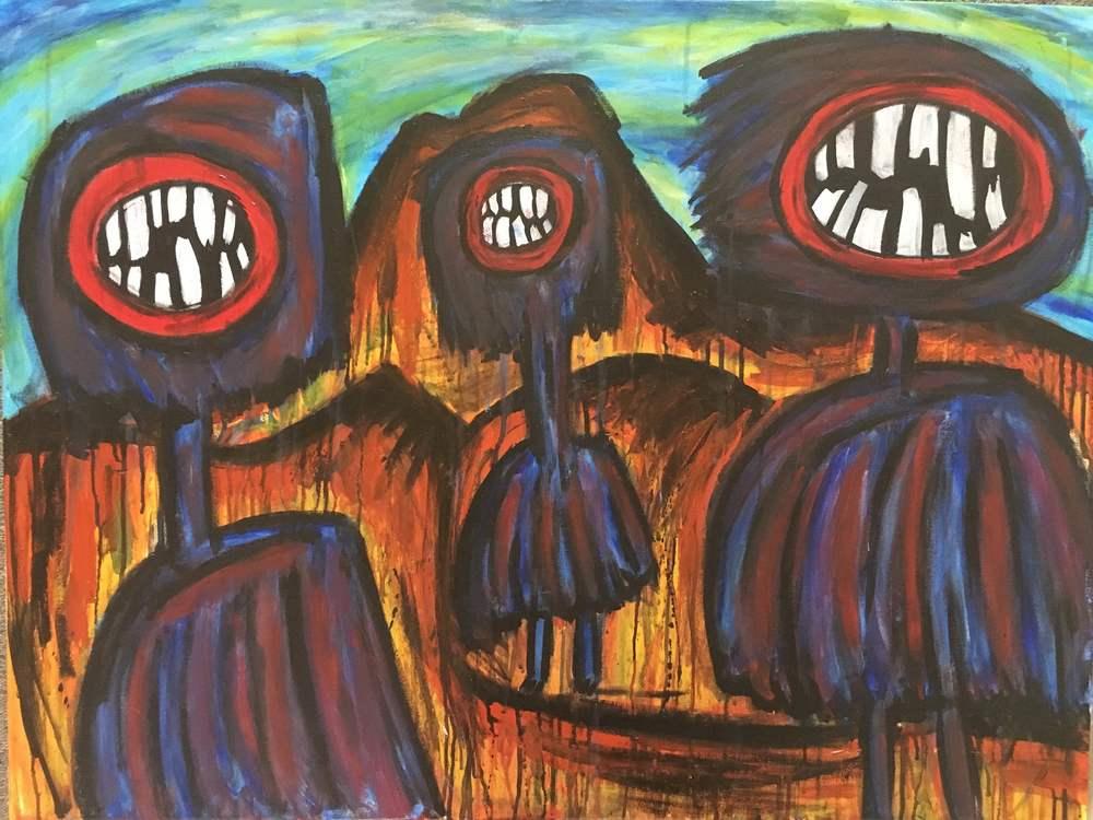 Gavin Coote, Australian artist, The Corner Store Gallery