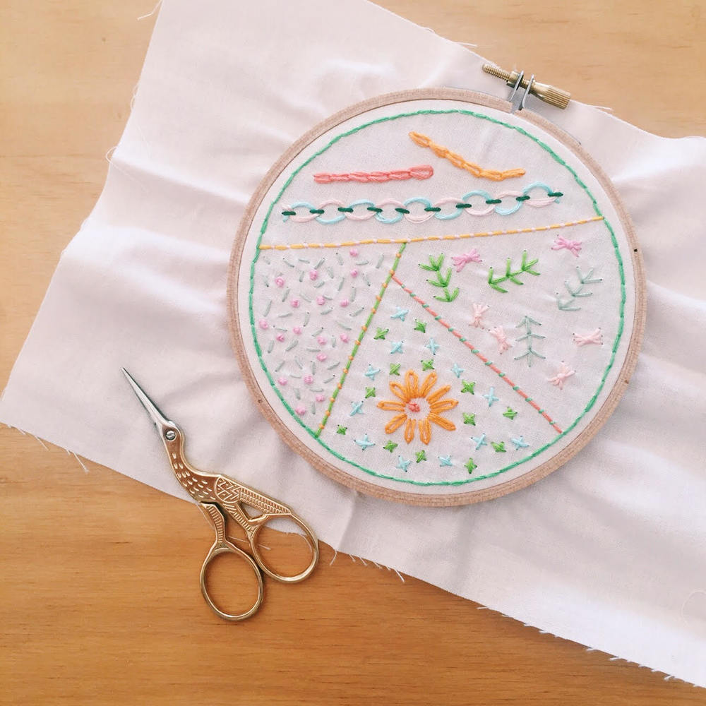 Embroider Sampler Workshop, craft workshop - The Corner Store Gallery, Orange NSW, photograph by Jacqueline Chan (Whimsy Milieu)