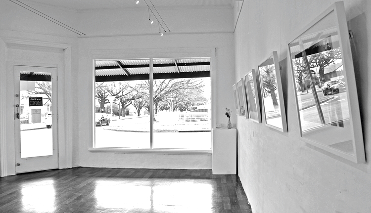 Nicole Chaffey -  breathing space , August 2014, The Corner Store Gallery, Orange NSW, photograph by Madeline Young