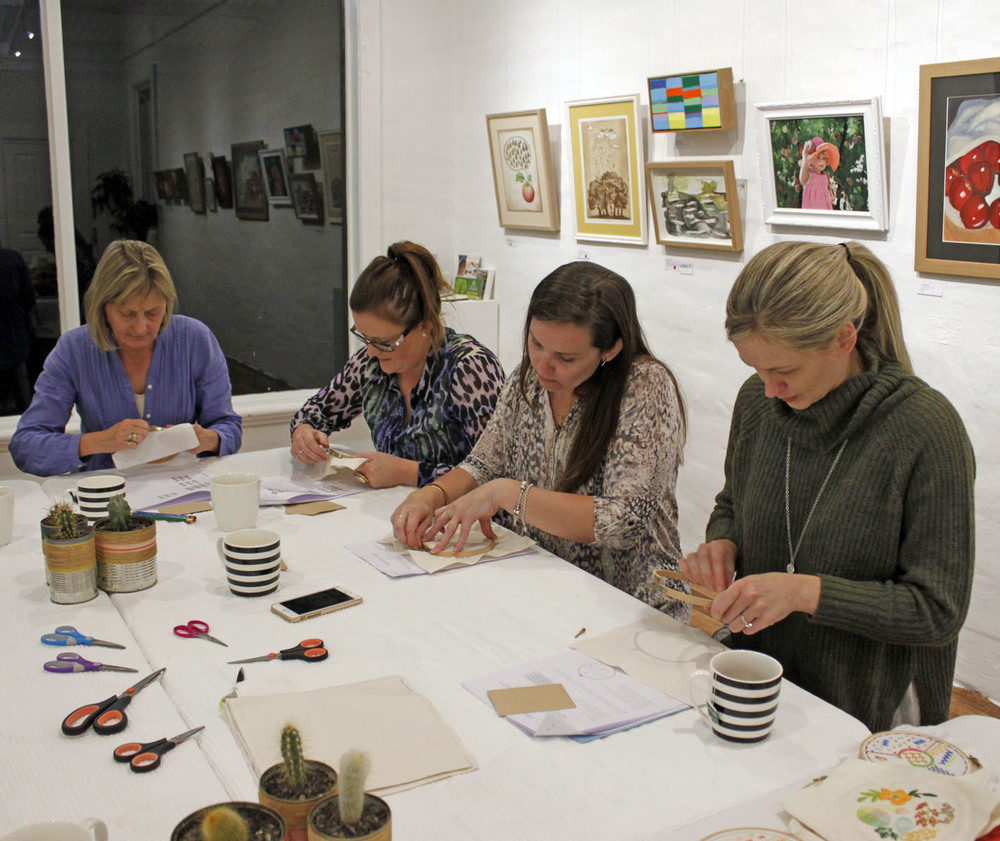 Modern Embroidery Workshop with Jacqueline Chan Whimsy Milieu, The Corner Store Gallery, Orange NSW