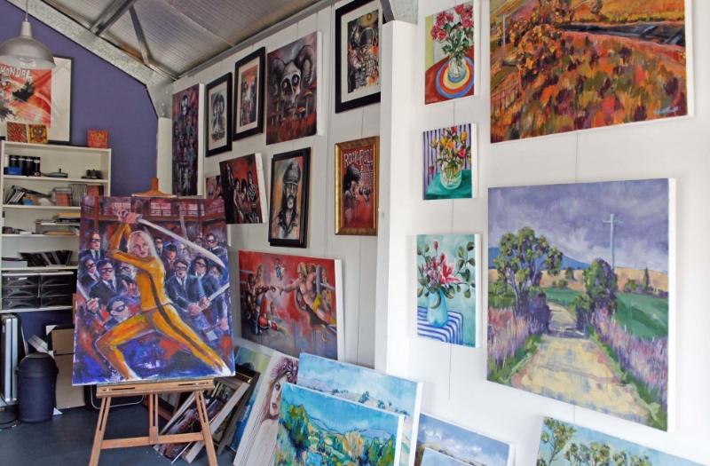 Australian Artist Nicole Foxall, The Corner Store Gallery