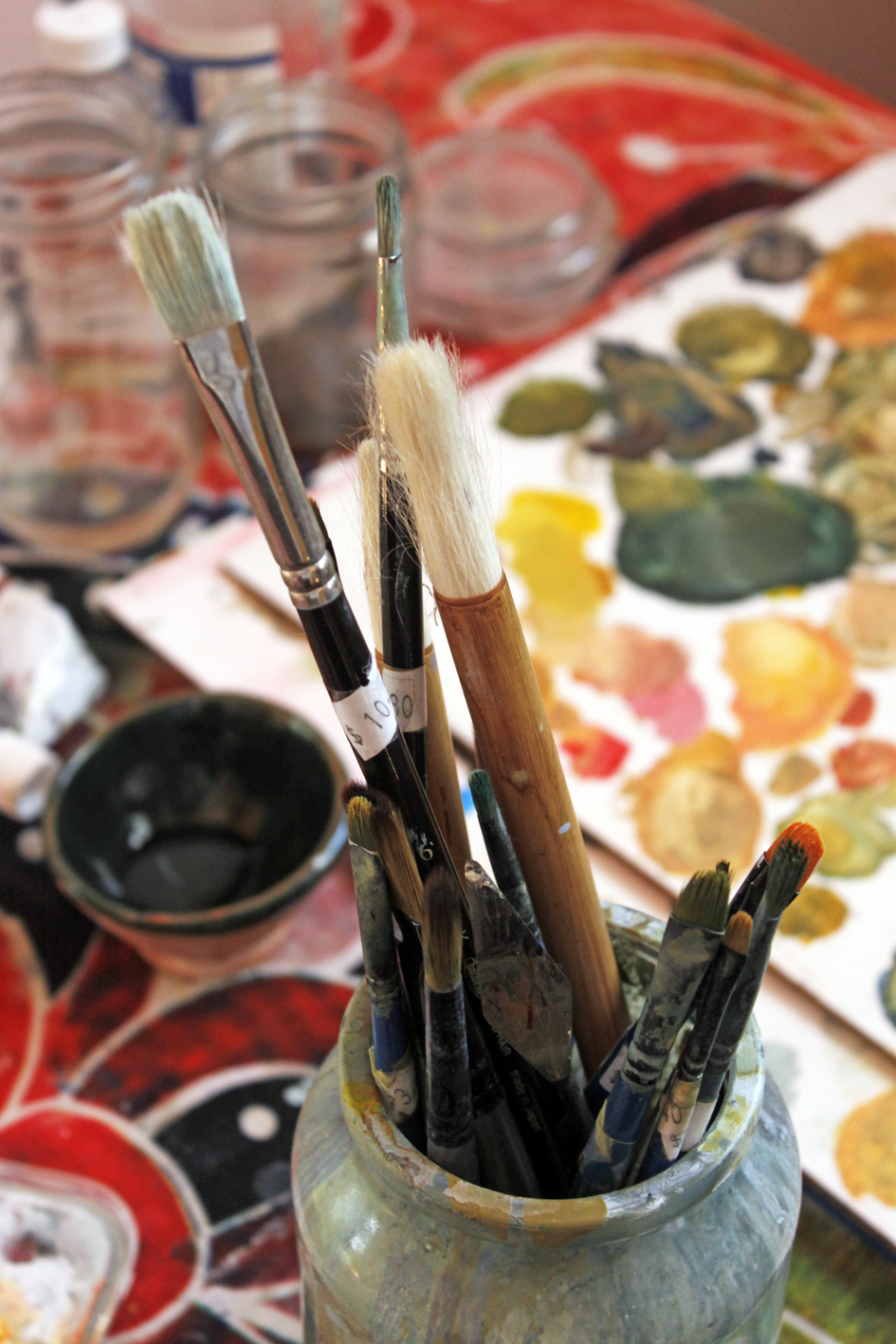 Australian Artist studio visit, Jahne Meyer, The Corner Store Gallery