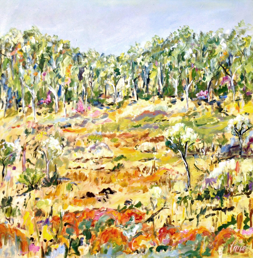 Australian Artist Kathleen Lane - The Corner Store Gallery, Orange NSW