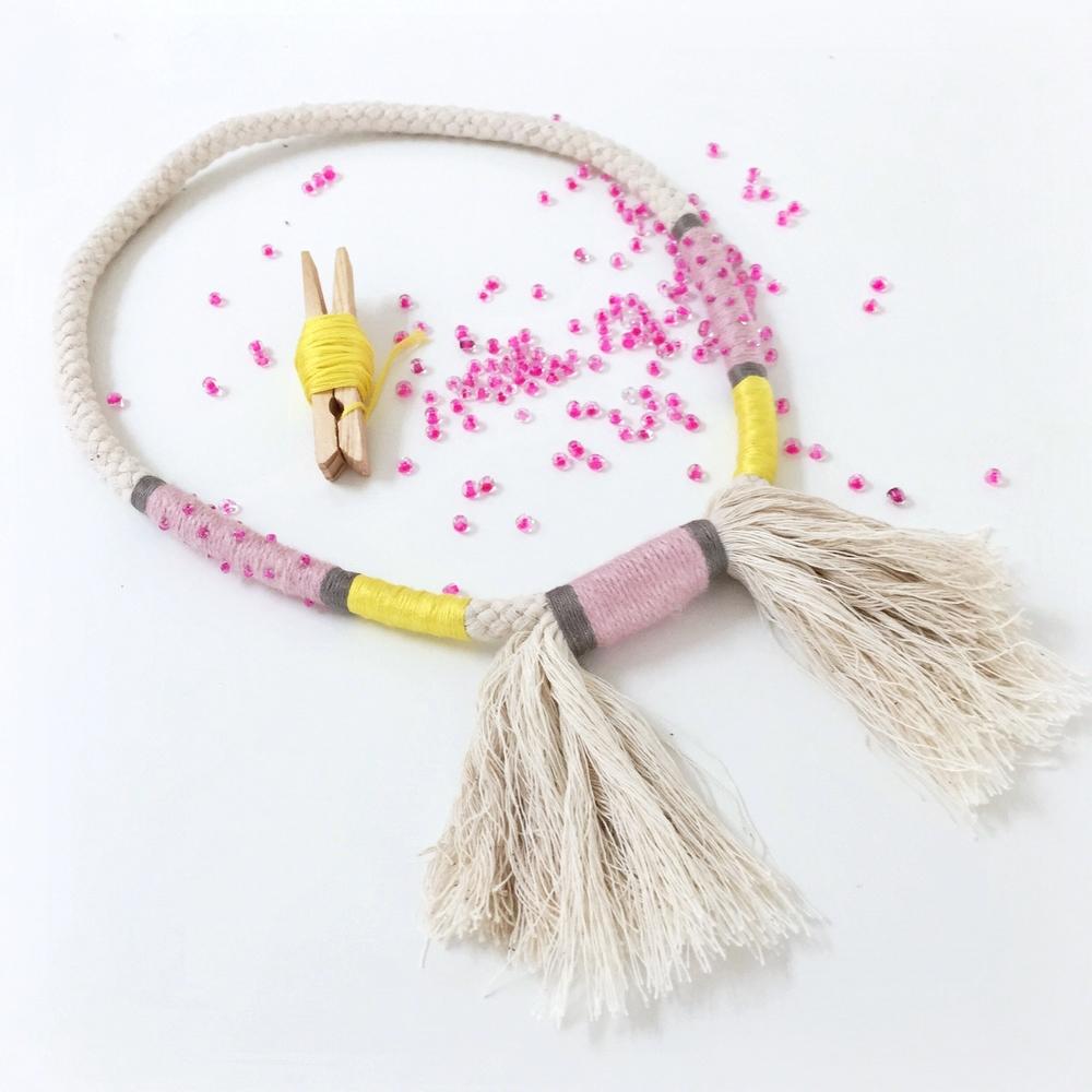 Rope Necklace Workshop - The Corner Store Gallery, Orange NSW