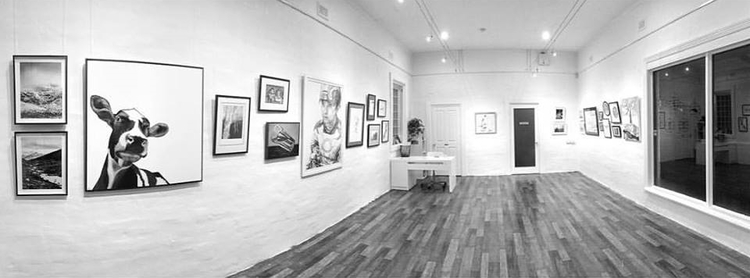 The corner store gallery black and white group exhibition
