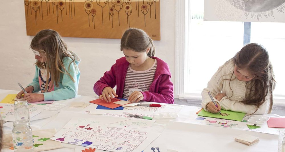 Kids Block Printing Class - The Corner Store Gallery, Orange NSW