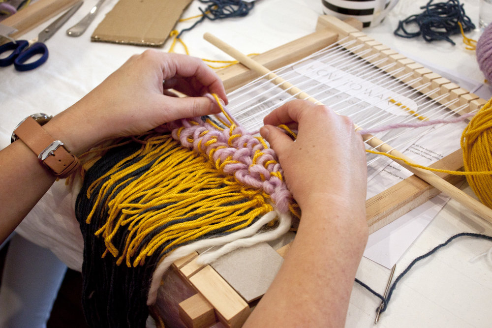 Weaving Workshop - The Corner Store Gallery