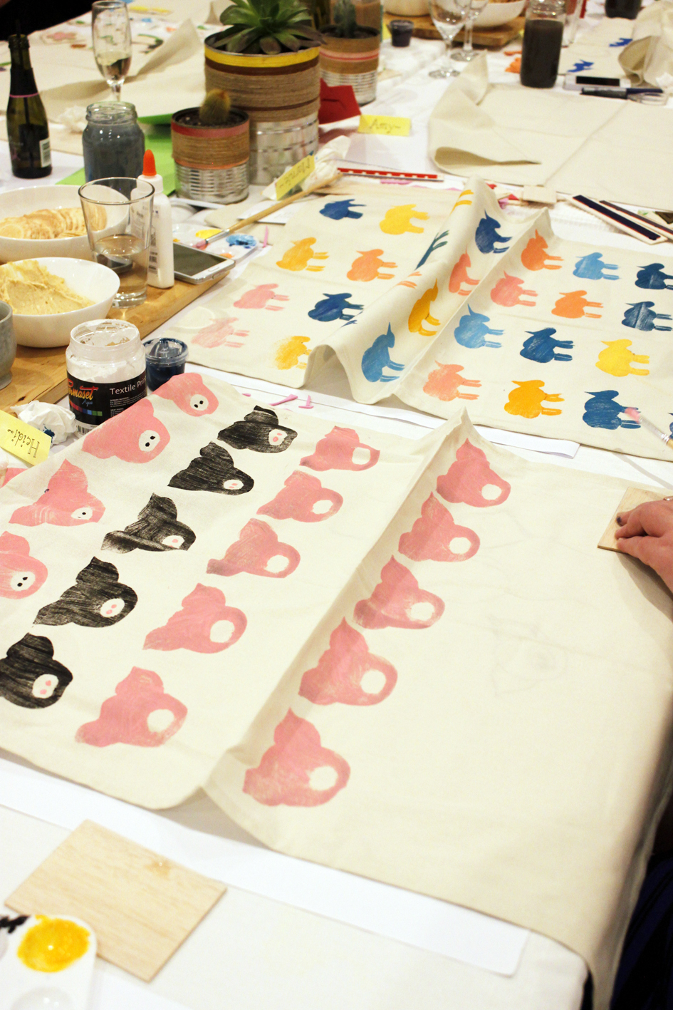 Block Printing Workshop with Jacqueline Chan - The Corner Store Gallery