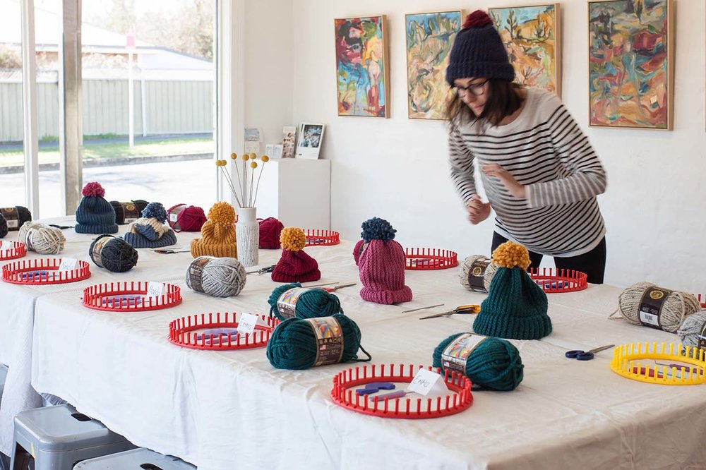 DIY Beanie Workshop - The Corner Store Gallery