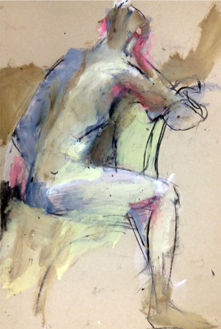 The Corner Store Gallery - Studies of the Nude Group Exhibition, Orange Life Drawing Group