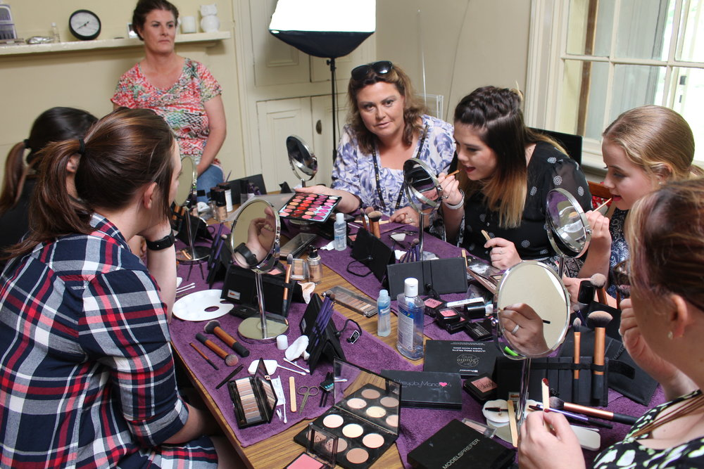The Corner Store Gallery - Makeup Workshop with Haley Jean Makeup Artist