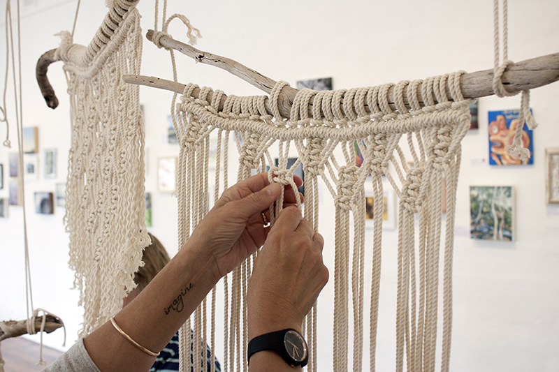 The Corner Store Gallery - Macrame Wall Hanging Workshop