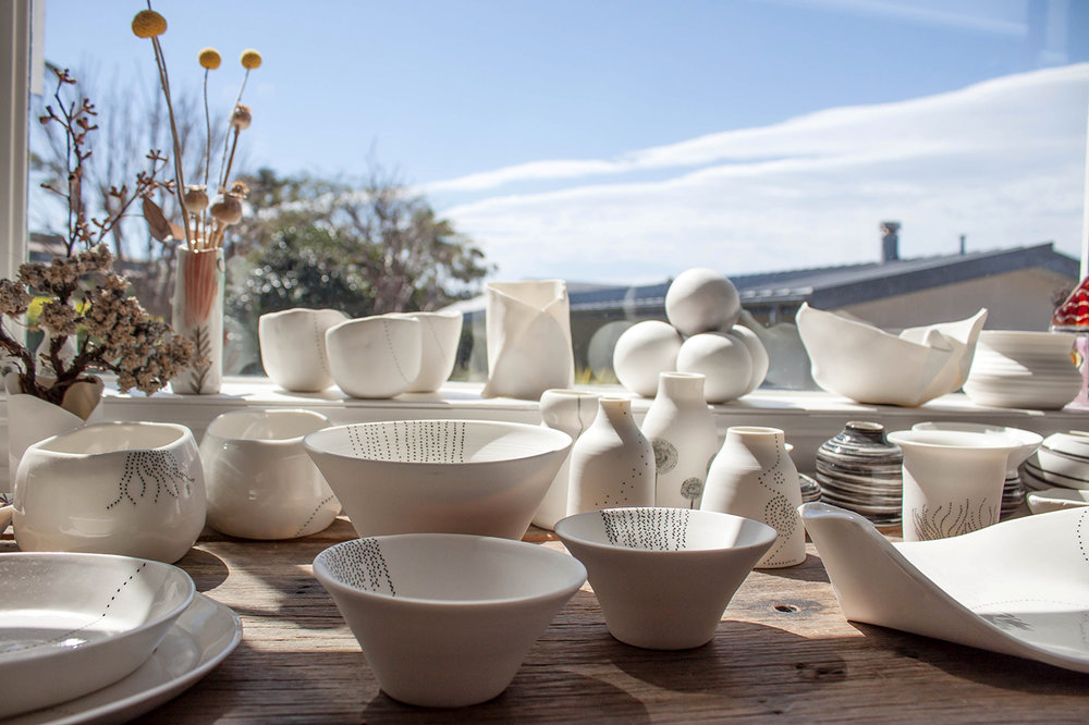 The Corner Store Gallery - Studio Visit with Australian Ceramicist Tracy Dickason of Claypen
