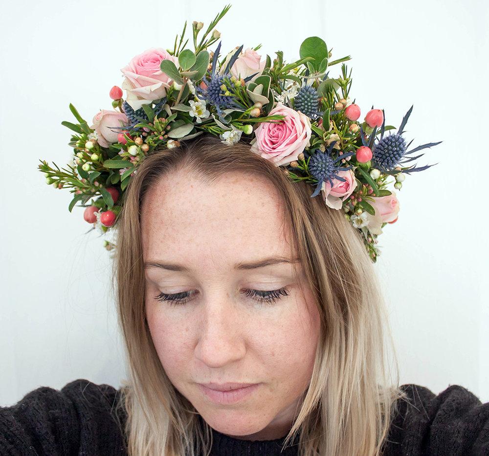 Flower Crown Workshop - The Corner Store Gallery
