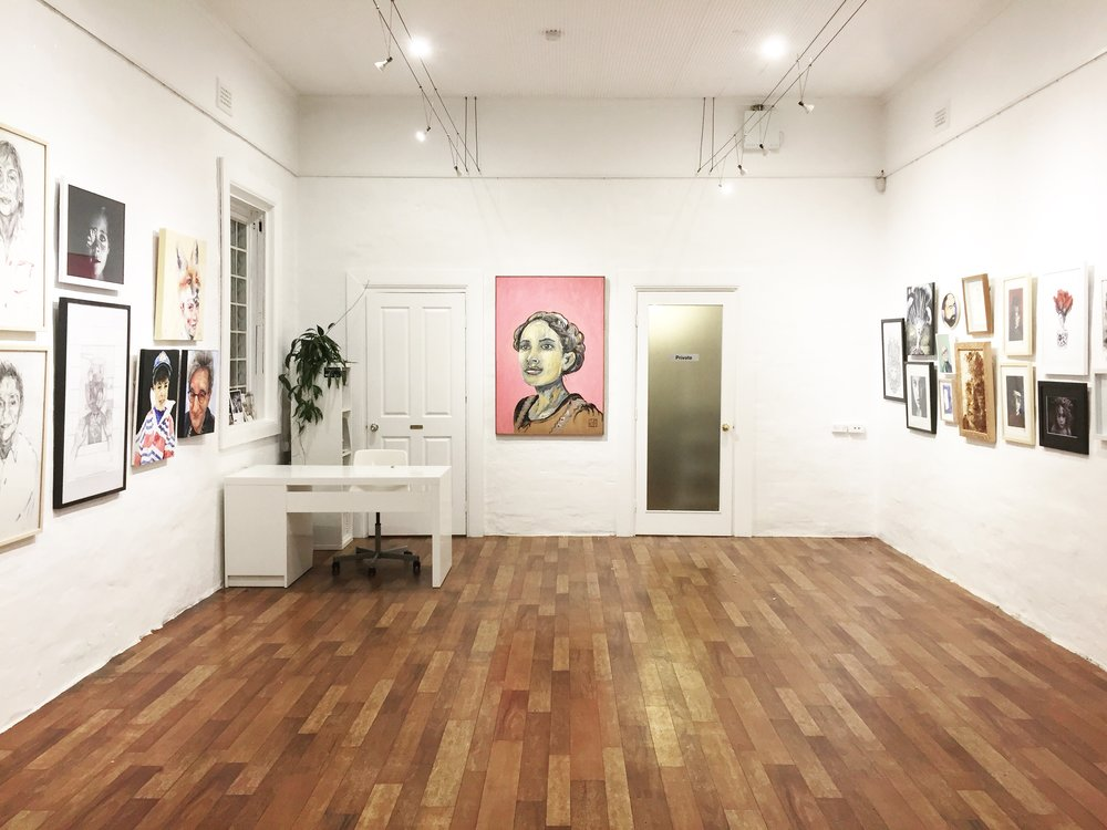 The Corner Store Gallery - Portrait Group Exhibition