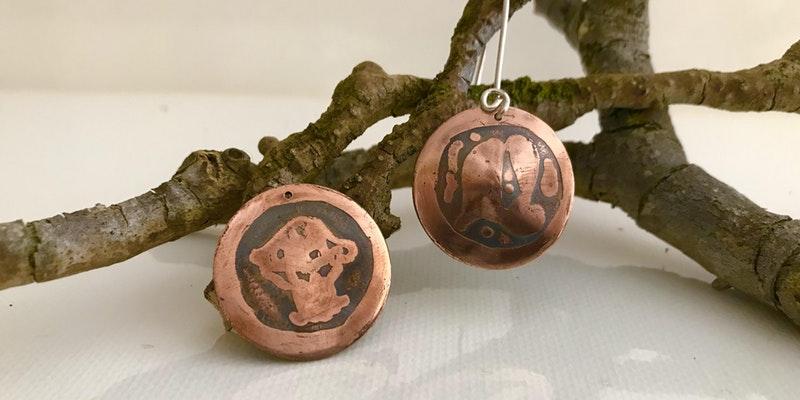 Copper Earrings Workshop - The Corner Store Gallery