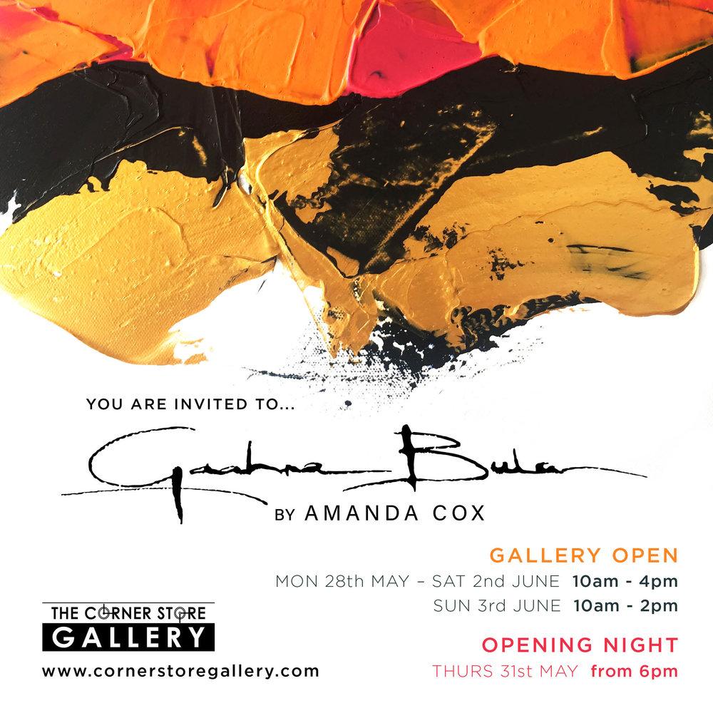 The Corner Store Gallery - Amanda Cox