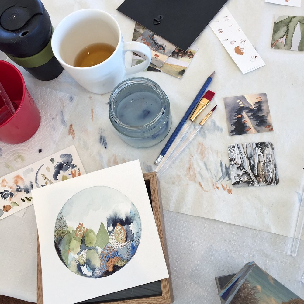 The Corner Store Gallery - Watercolour Workshop with Ingrid Bowen