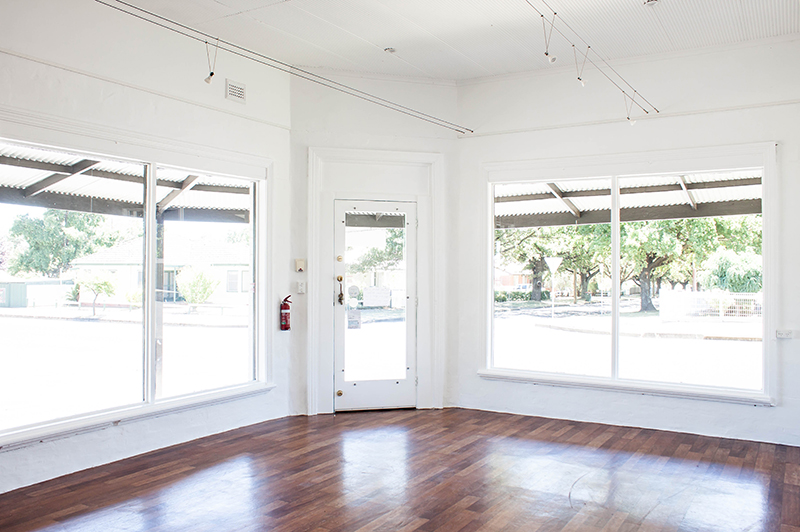 The Corner Store Gallery - a blank canvas