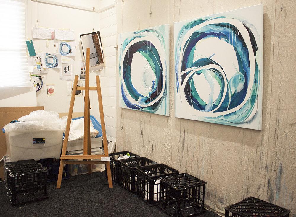 The Corner Store Gallery - Lara Scolari Studio Visit