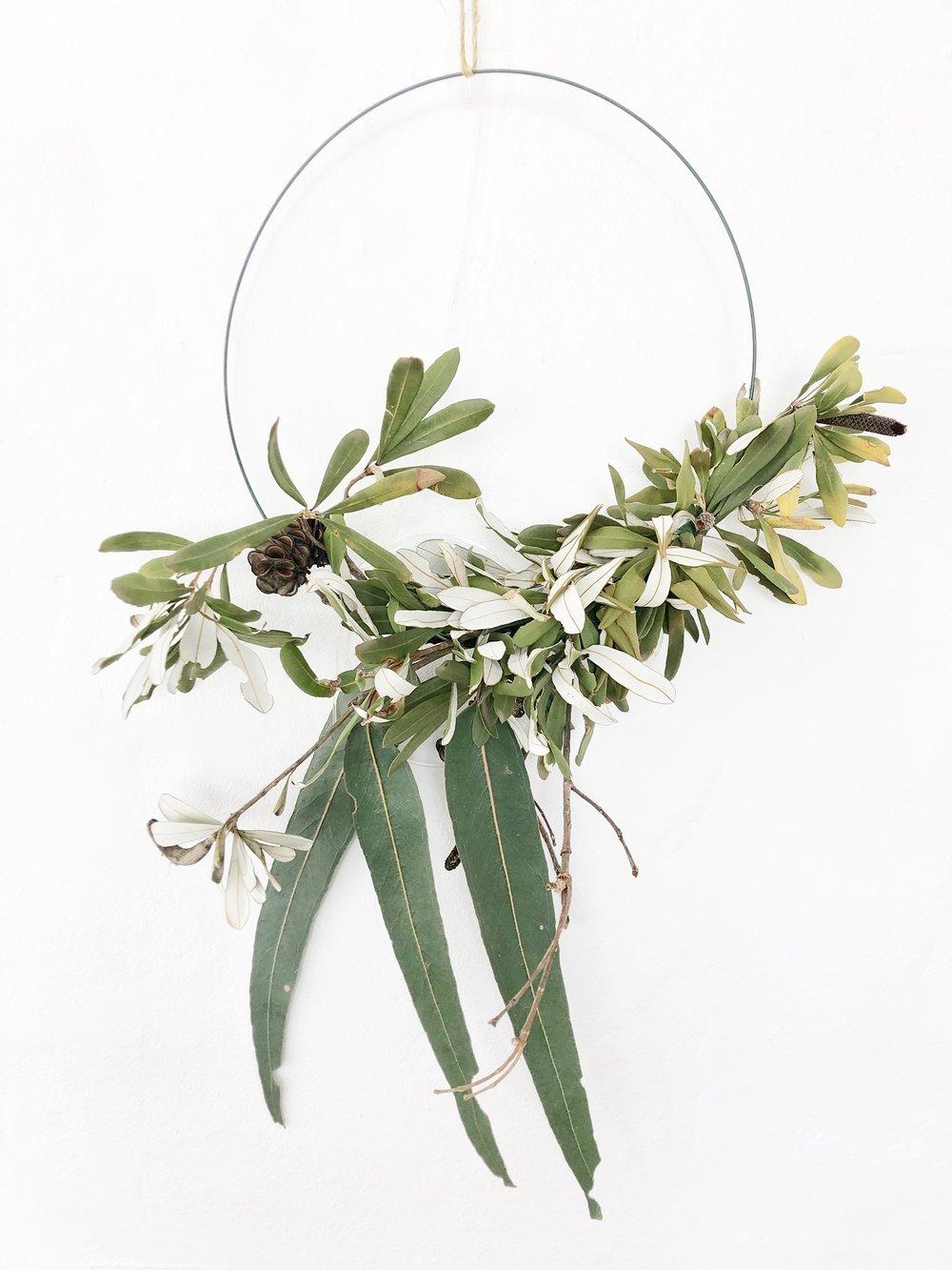 The Corner Store Gallery - Native Wreath Workshop