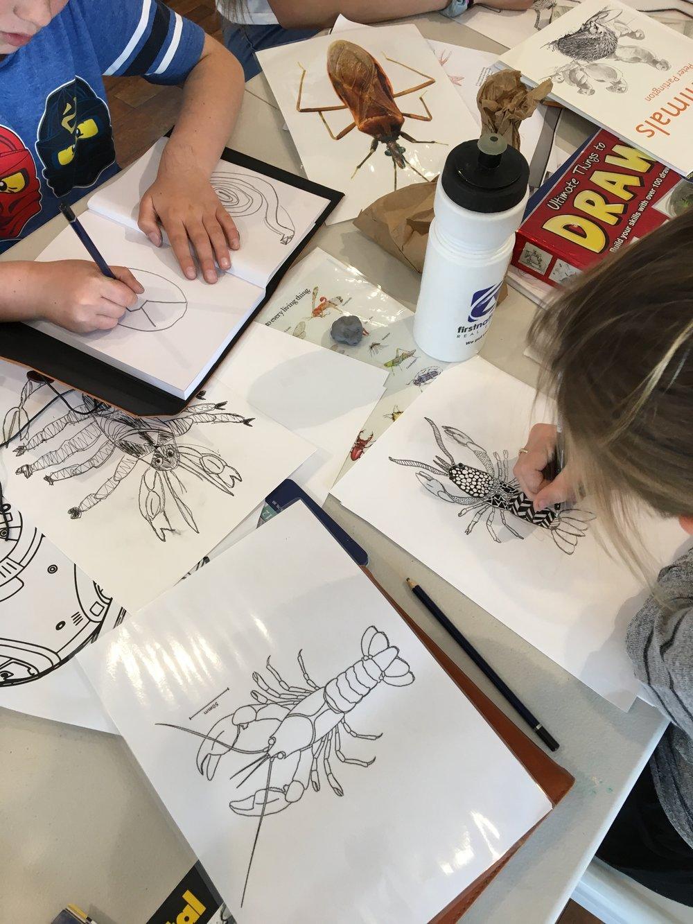 The Corner Store Gallery Kids Workshop