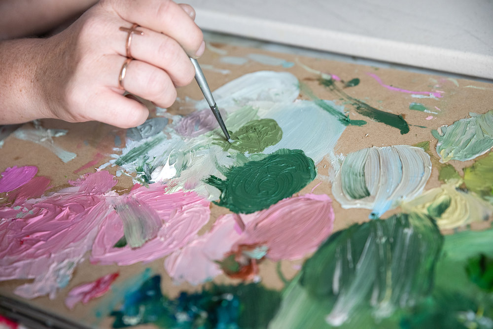The Corner Store Gallery - Studio Visit with Madeline Young