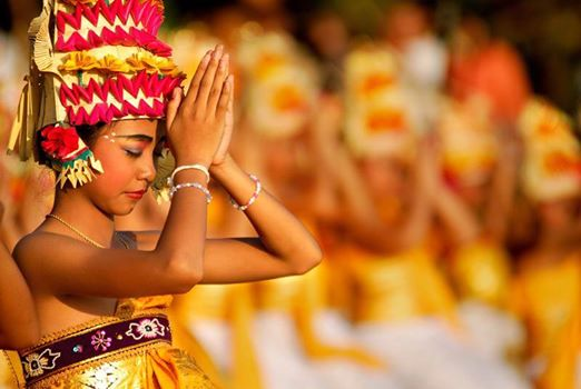 The beauty and connection in Balinese rituals.