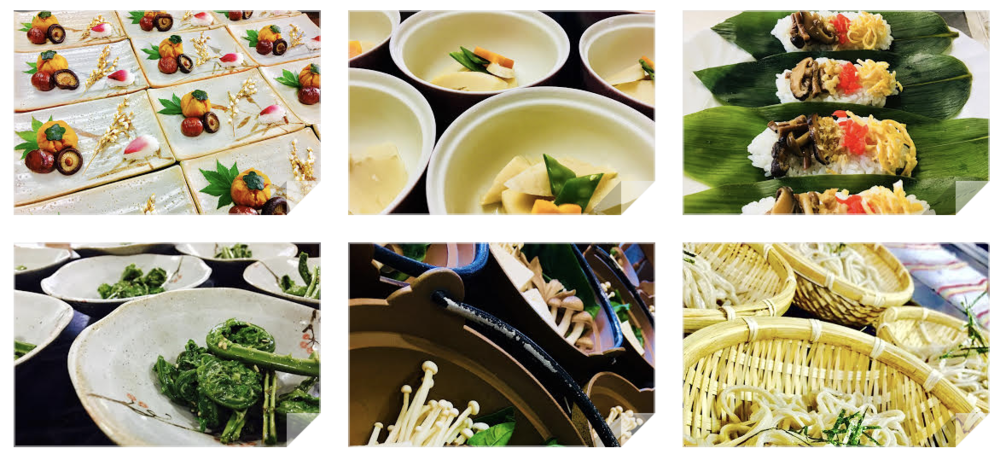 Healthy Vegetarian Meals (all evening meals included in retreat price)