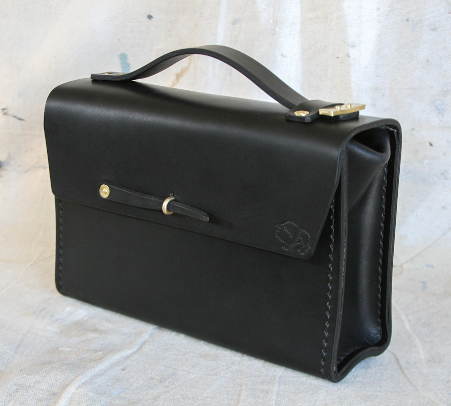 WLC Small Toolbox in Black Bridle