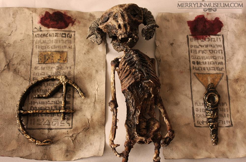 La verdad sobre esqueletos de criaturas hallados en Londres