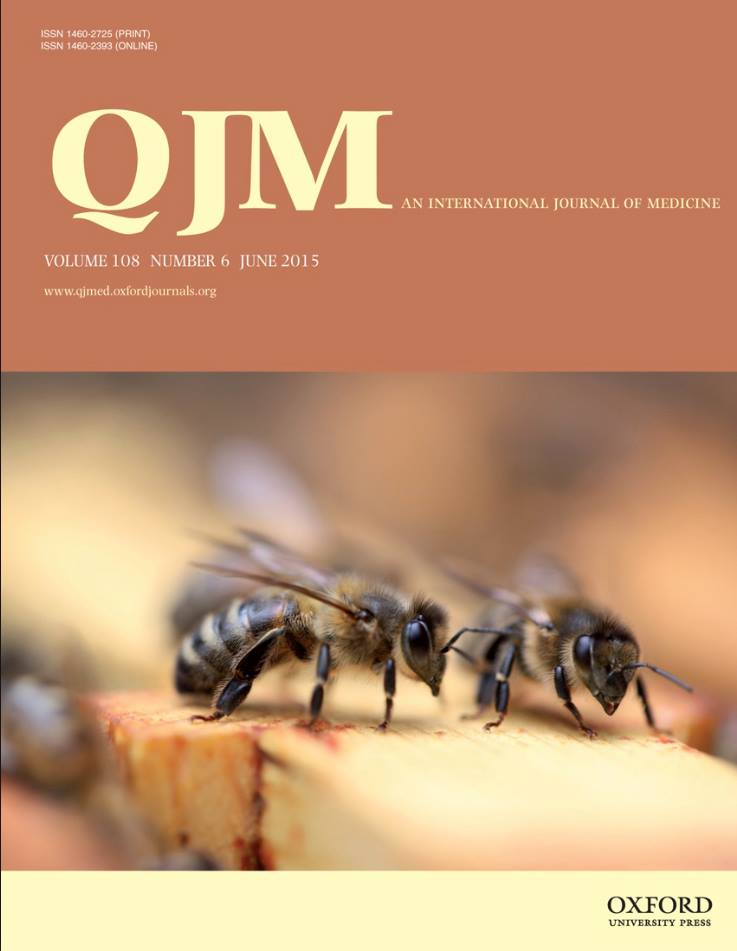 Oxford Medical Journal - Front Cover