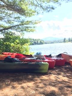 Daily kayak rentals