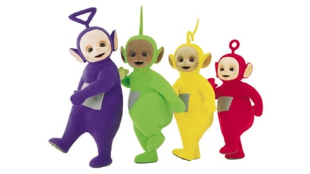 Teletubbies four figure family pack review