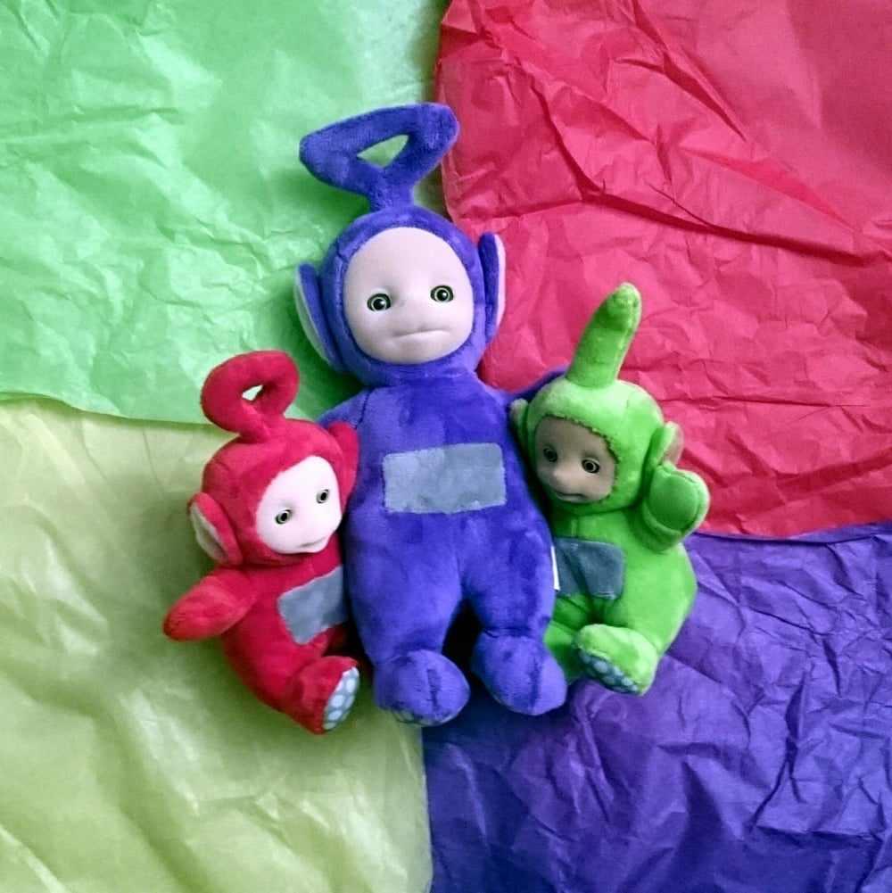 Talking Tinky Winky plush